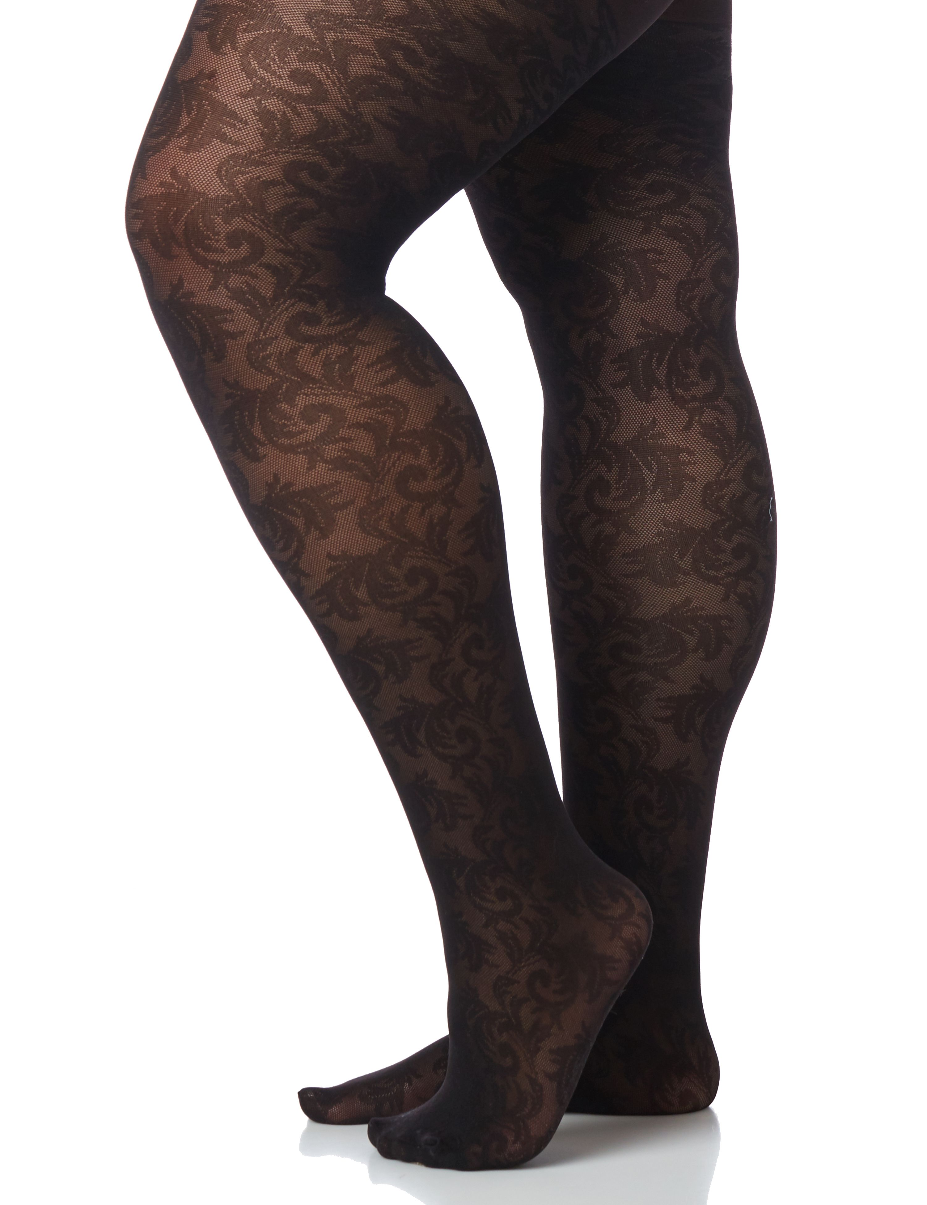 Lace Opaque Tights 300076928