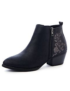 Good Soles Embroidery Bootie