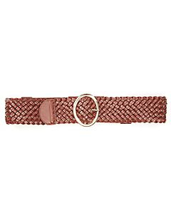 Oval Buckle Belt