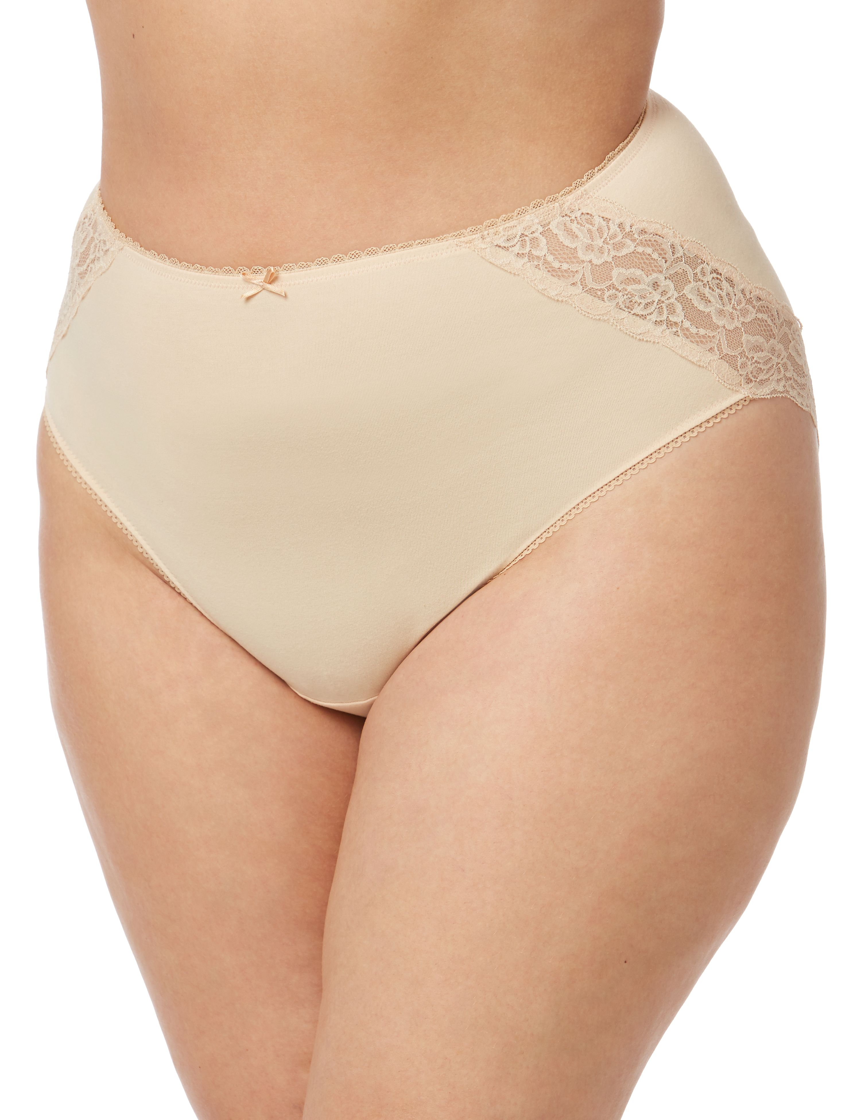 Lace Inset Microfiber Brief 1081209 The Tilly lace microfiber b MP-300094212