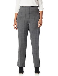 Plaid Refined Pant