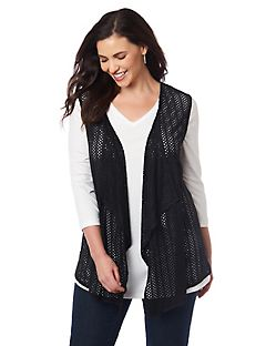 Sueded Vest