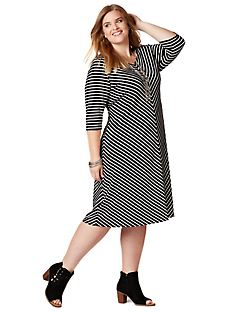 Seville Striped Dress