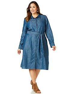 Claremont Denim Shirt Dress