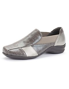 Good Soles Snakeskin Slip-On