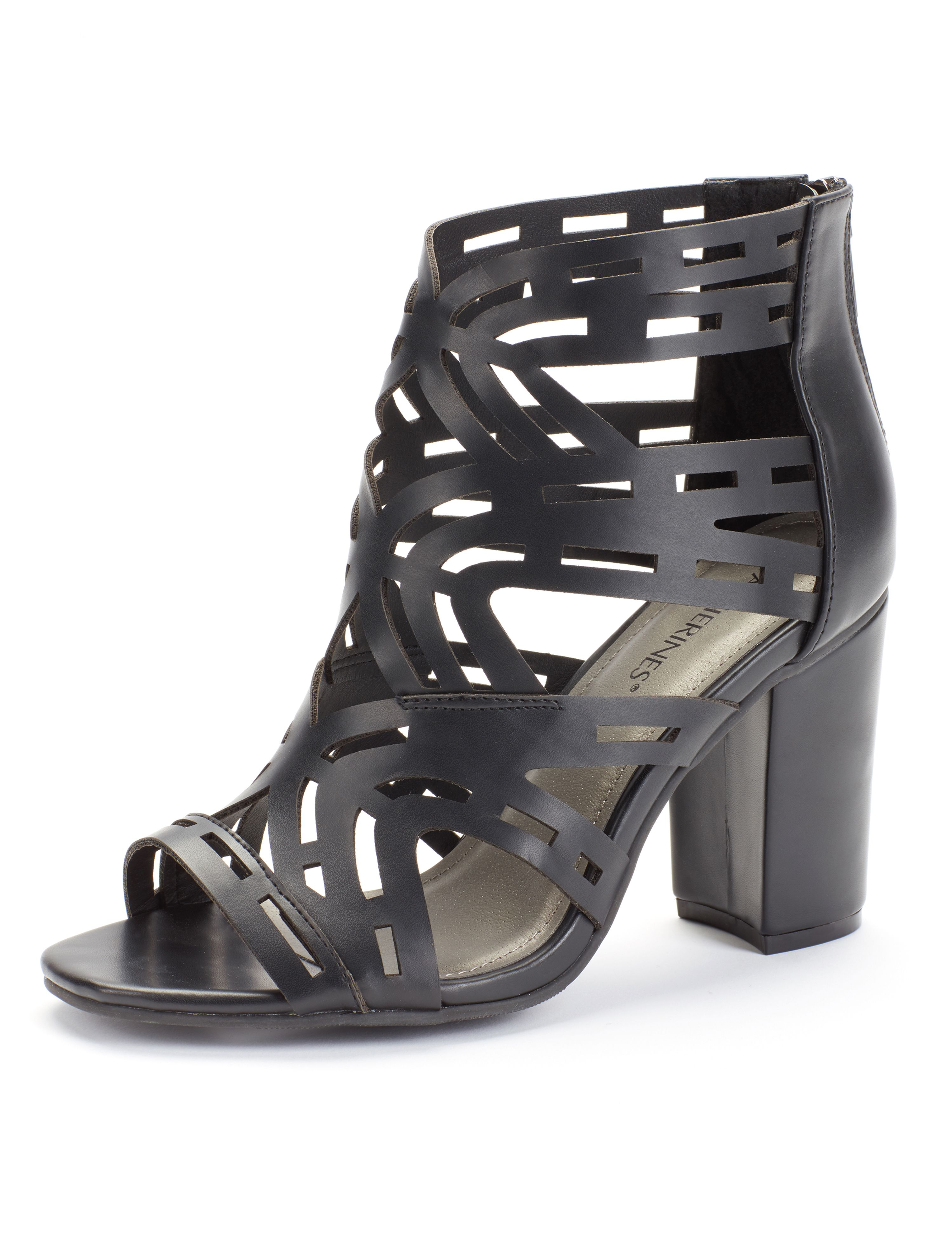 Good Soles Caged Heel Curvy Caged Block Heel MP-300079813