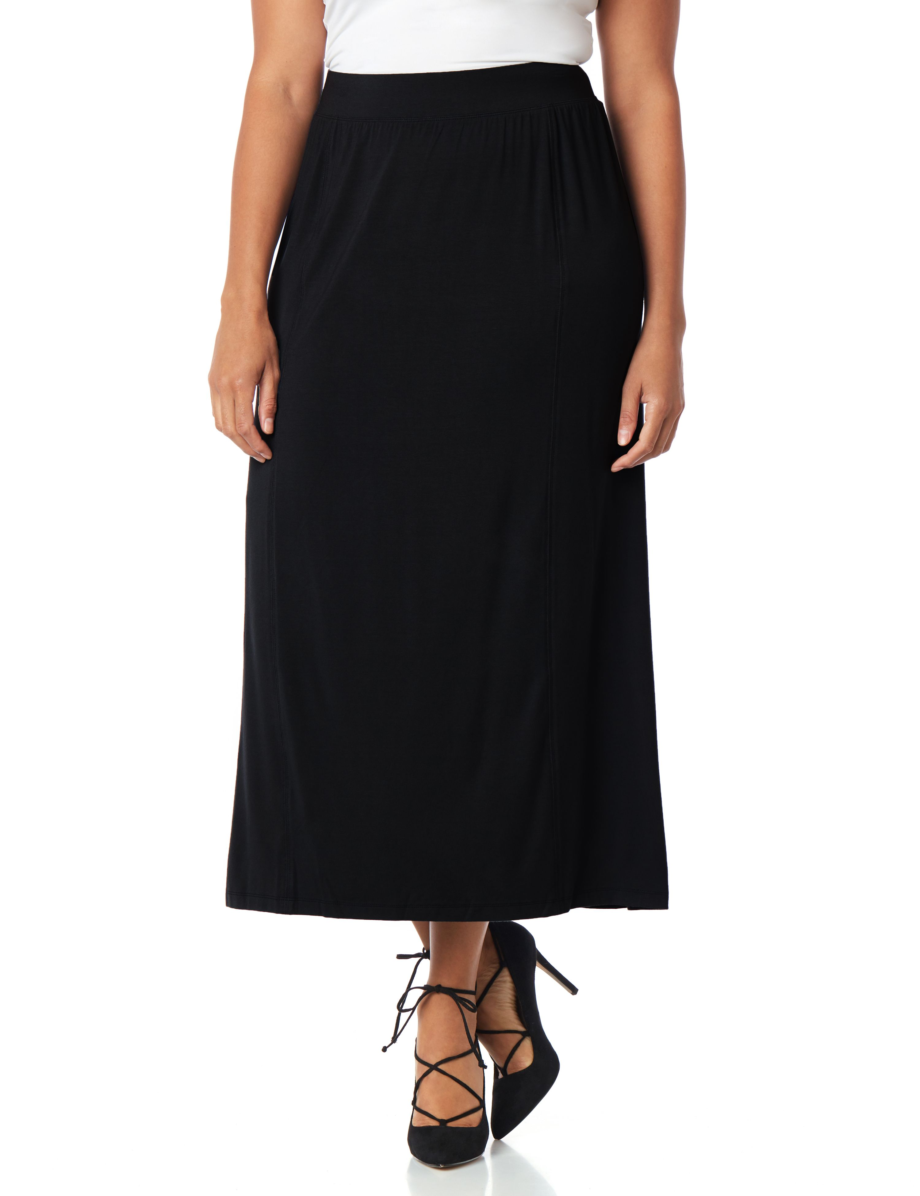 AnyWear Modern Midi Skirt 1086706 Midi Skirt with Side Slits MP-300079960