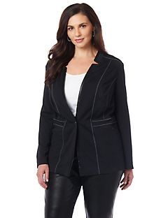 Black Label Carroway Piped Blazer