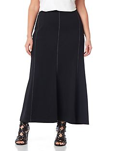 Black Label Carroway Piped Skirt