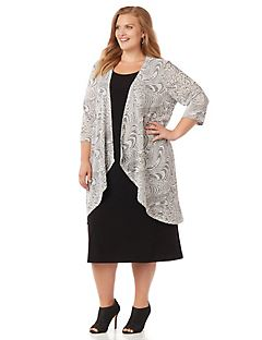 Plus Size Dresses & Gowns Sizes 0X-5X | Catherines