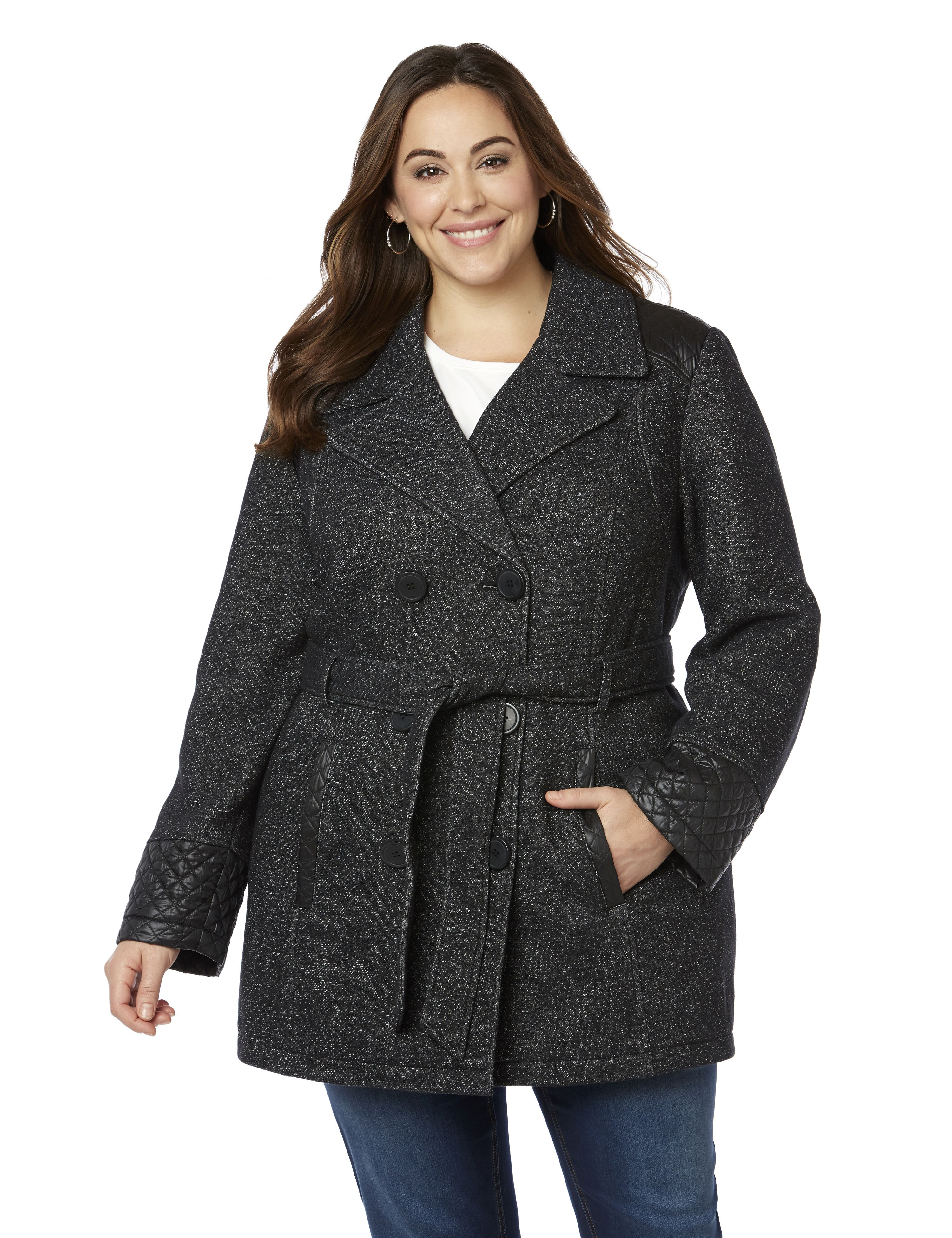 Fleece Peacoat 1084409 SWEATSHIRT FLEECE PEACOAT W MP-300080791
