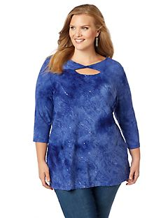 Azure Waves Top