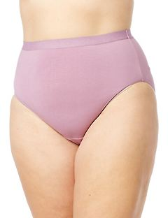 Shimmer Waist Cotton Hi-Cut Brief