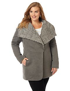 Aspen Village Luxe Collar Coat