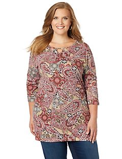 Pretty In Paisley Top