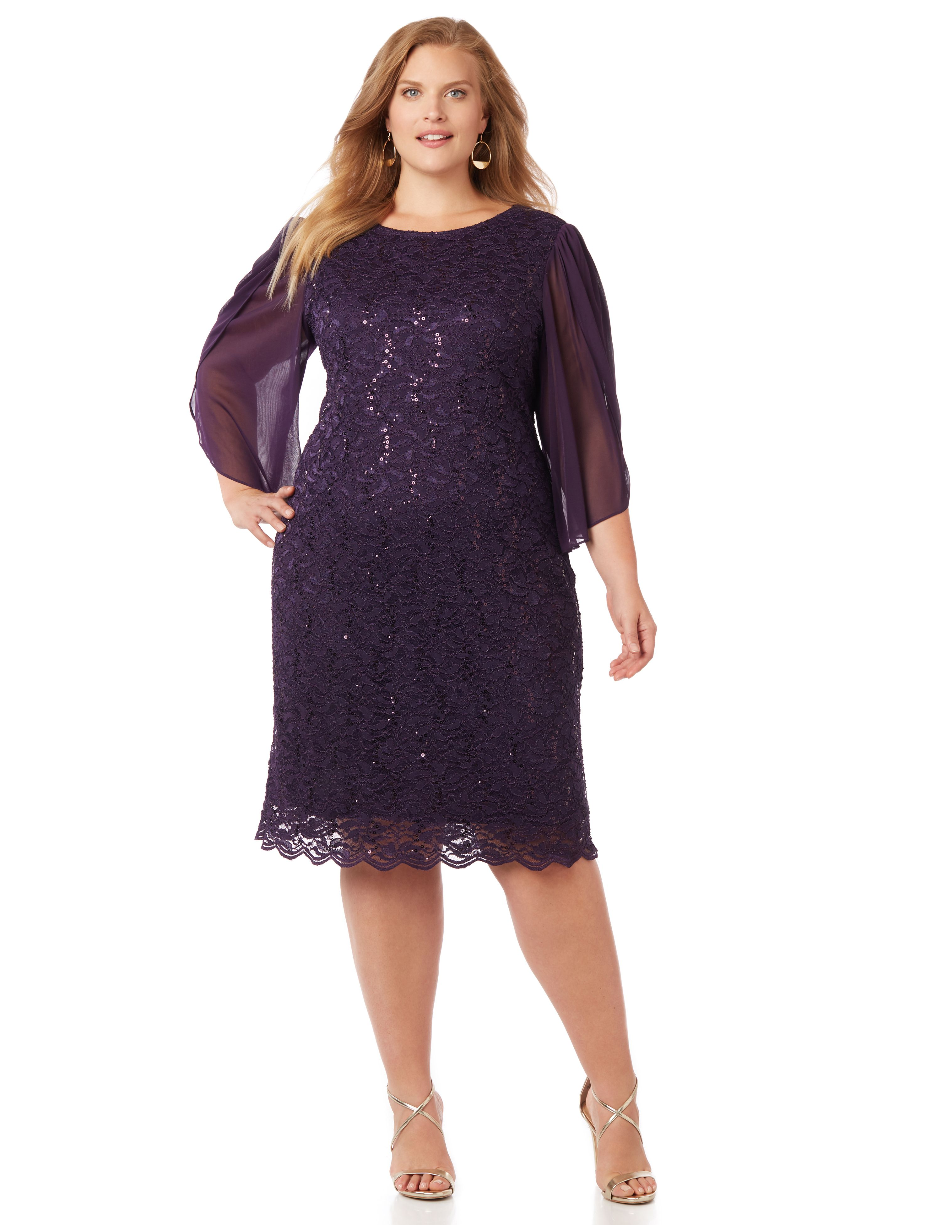 Plus Size Evening Dresses: Formal Dresses & Gowns | Catherines
