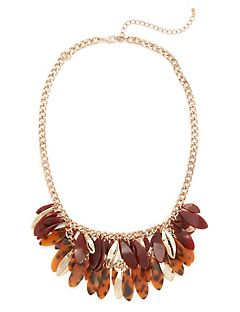 Fall Fringe Necklace