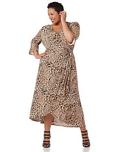 Black Label Cheetah Dress