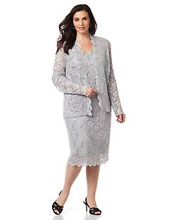 Evening Elegance Jacket Dress