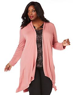 Curvy Collection Dusty Rose Cascade