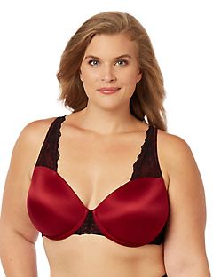 Underwire Lace Trim Bra