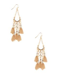 Falling Fringe Earrings