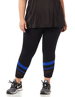 Mesh Spliced Legging