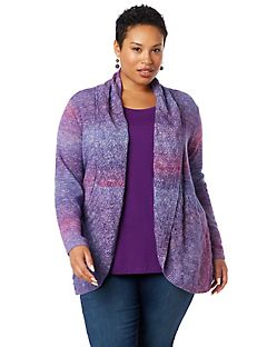 Color Study Pointelle Cardigan