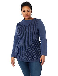 Bretton Woods Cable Knit Sweater