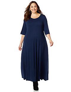 Blue maxi dress size 16