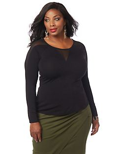 Curvy Collection Mirage Top