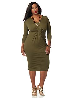 Curvy Collection Cascade Dress