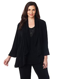 Sleek Stretch Debut Cardigan