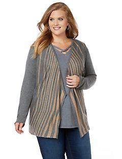 Light Cascade Cardigan