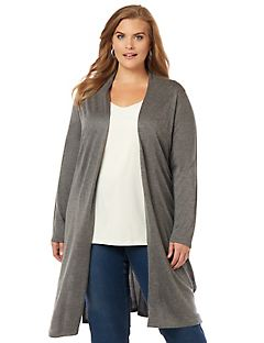 Essential Long Cardigan