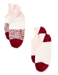 Pink Slipper Sock Set