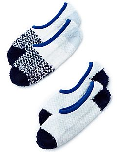 Blue Slipper Sock Set