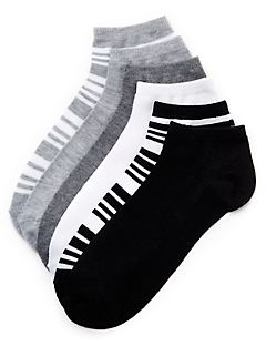 Shades Of Grey 6-Pack Socks