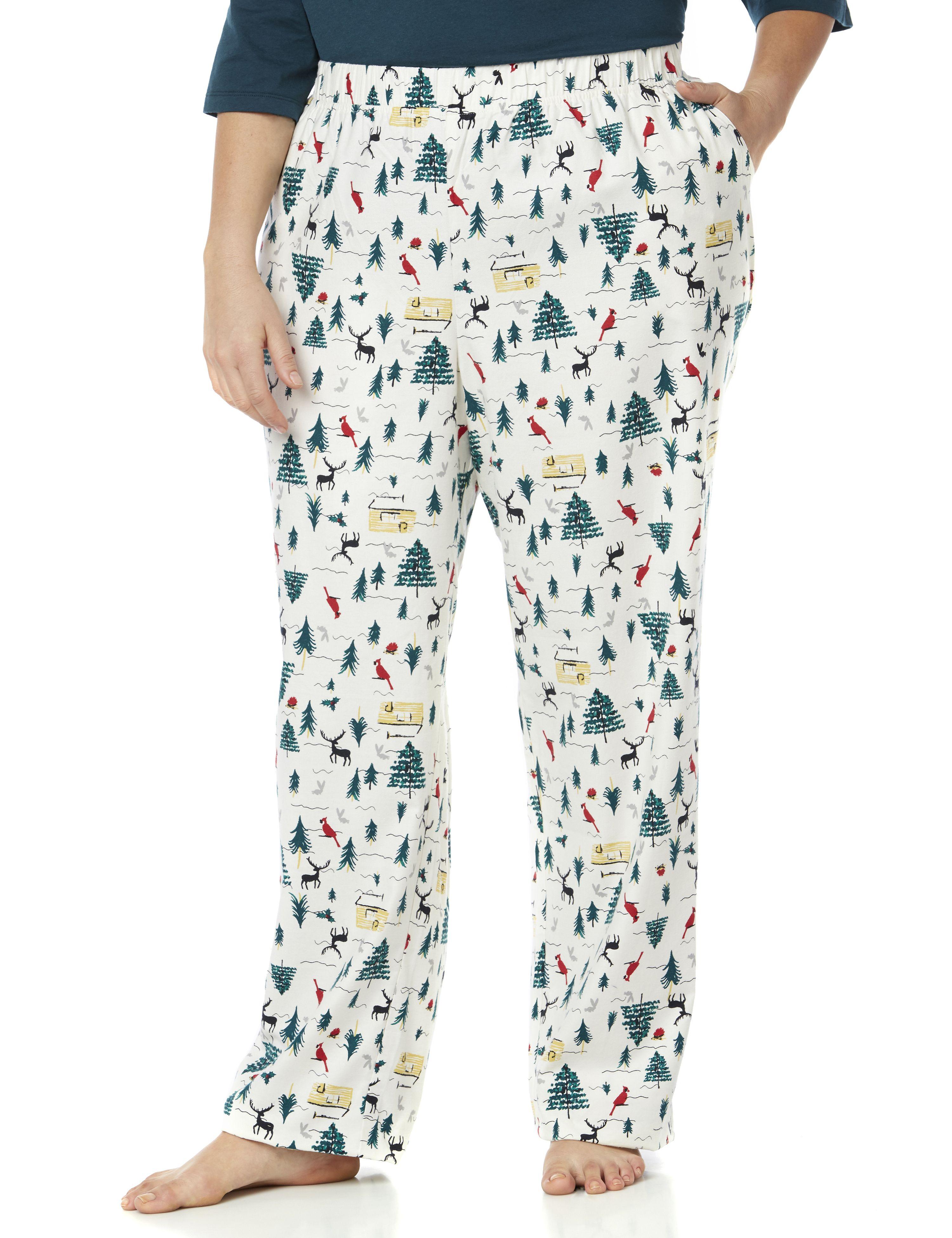 Winter Wonders Sleep Pant 1085154 Woven Flannel Pull on Pant MP-300089487
