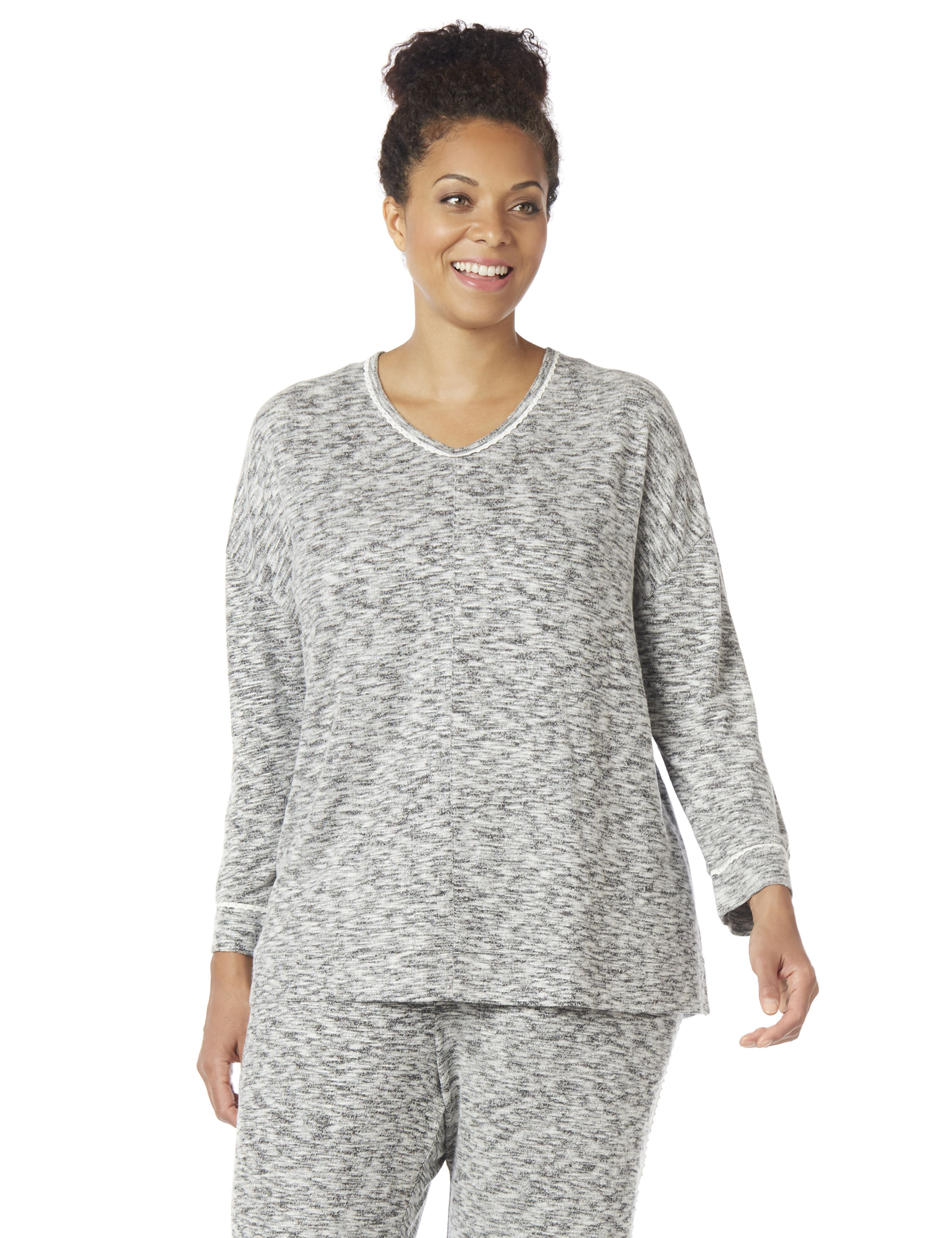 Speckled Sleep Top 1085248 ECO Brushed Hacci Top - 30
