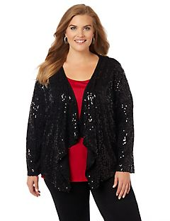 Radiant Sequins Cascade