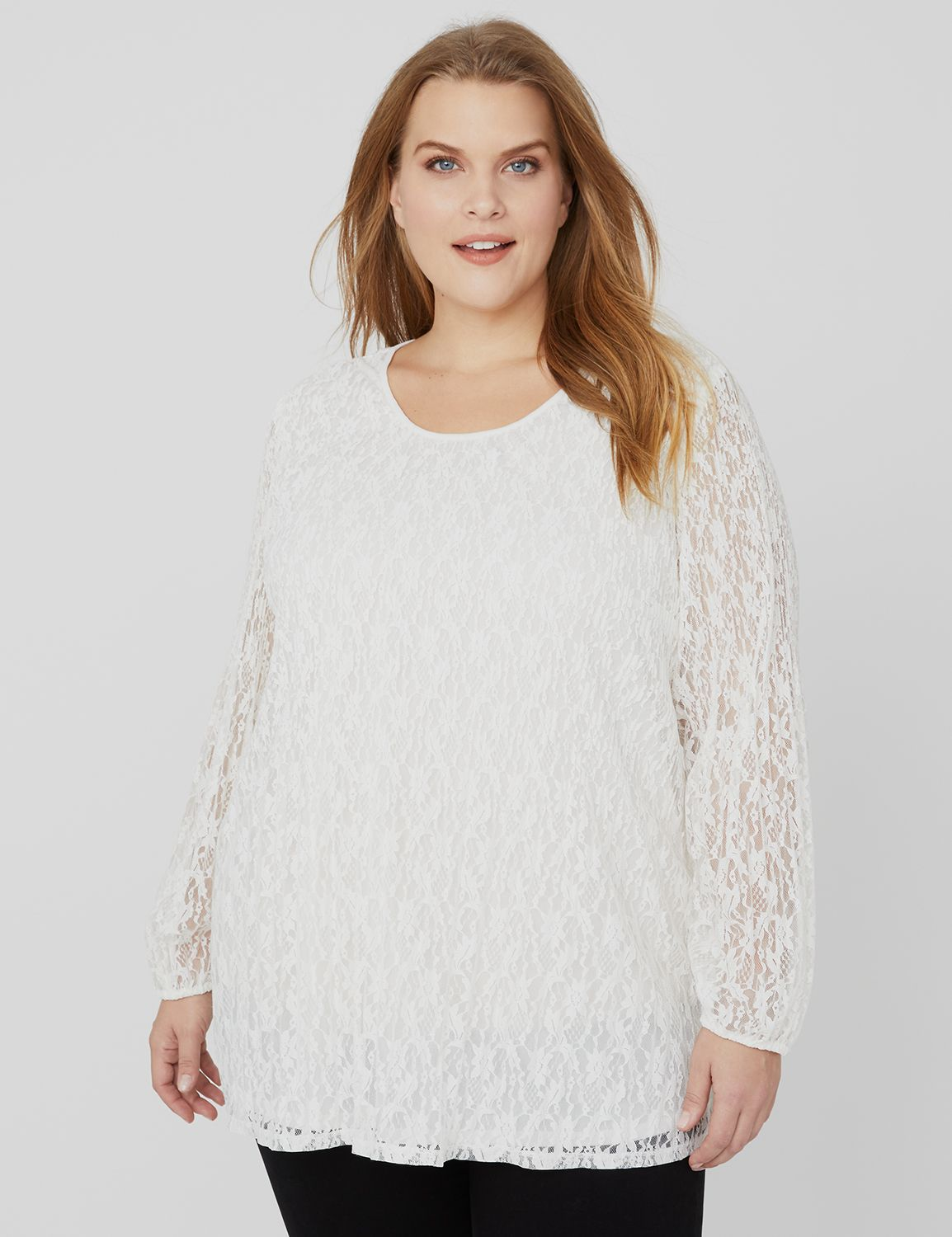 Pleated Lace Top Lace Cold Shoulder Pleater MP-300088766