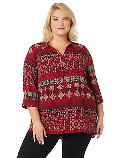 Energy Buttonfront Pullover