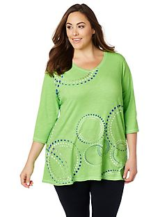 Swirling Dots Tee
