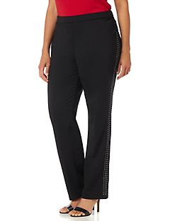 Black Label Studded Pant