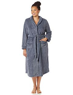 Snap-Front Robe