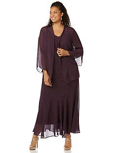 Plus Size Women\'s Jacket Dresses | Catherines