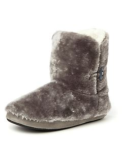Plush Bootie Slipper