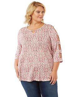 Province Cold-Shoulder Top