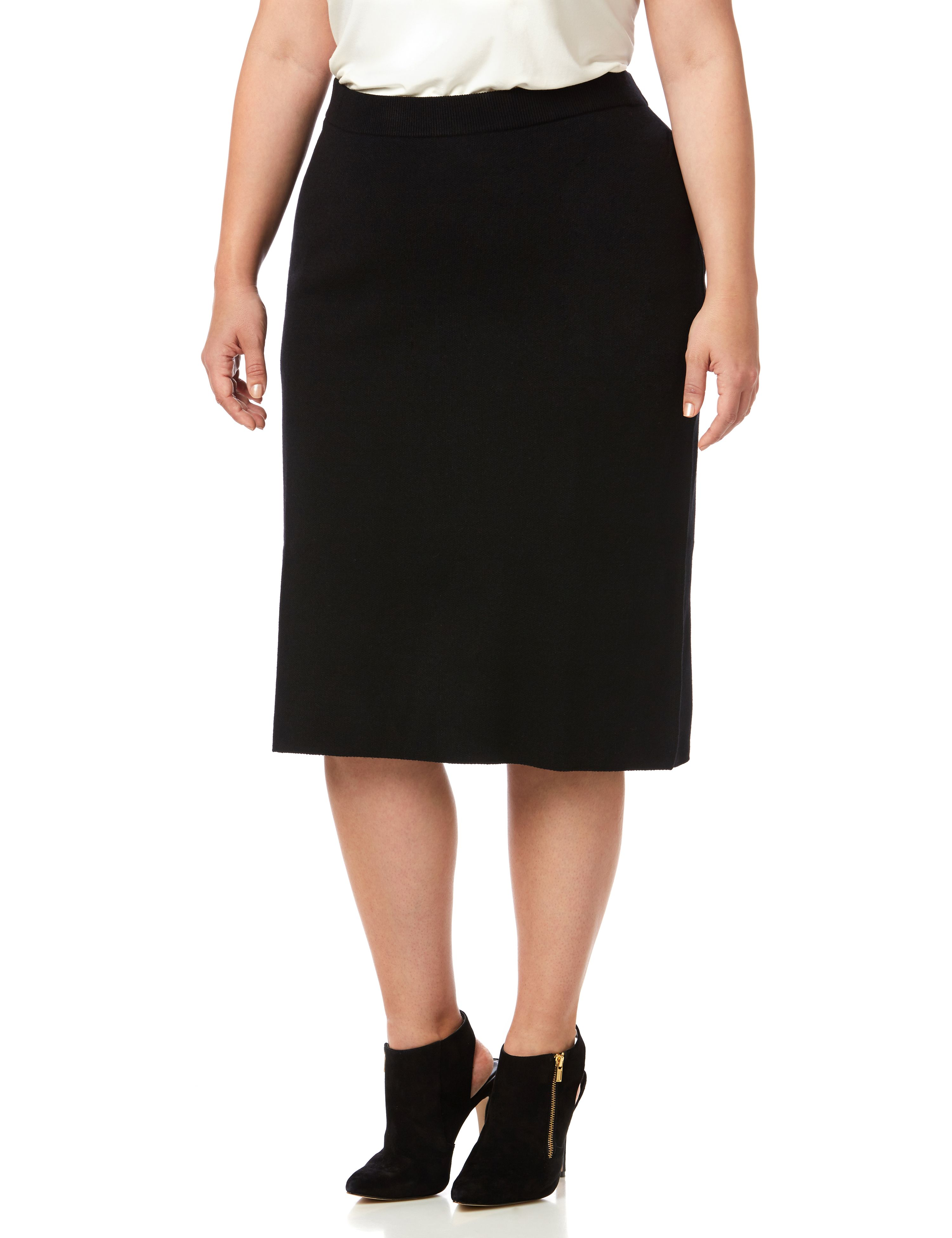 Black Label Sweater Skirt 1087455 Pull on sweater skirt - ATR MP-300091058